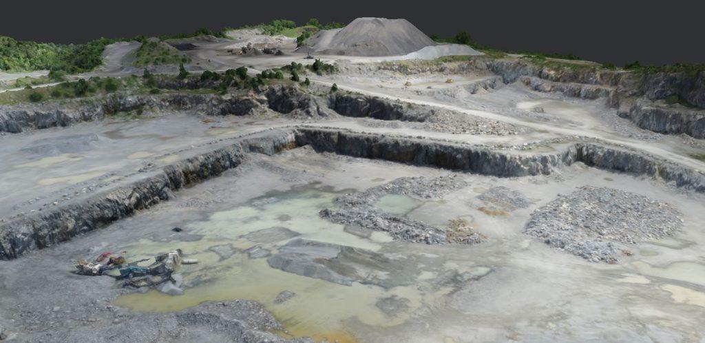 3D drone image